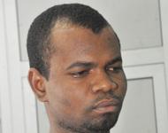Malam Bukar Modu, a detained Boko Haram member